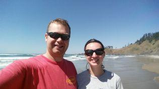 ocean selfie